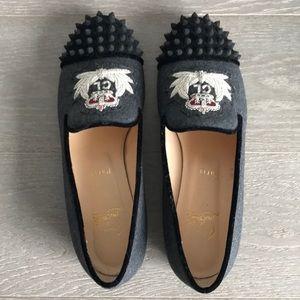 Christian Louboutin Intern Flat Loafers - Size 40